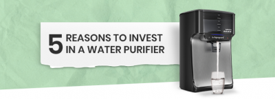 Five Reasons to Invest In a Water Purifier